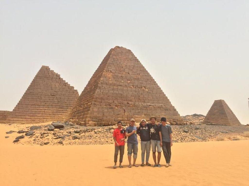 Situs Bersejarah di Sudan Hancur Dijarah Pemburu Harta Karun