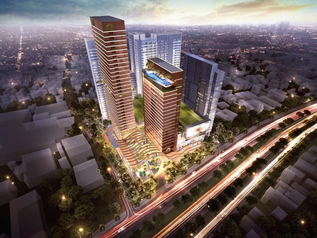 Upper Structure Tandai Pembangunan The Trans Icon Surabaya