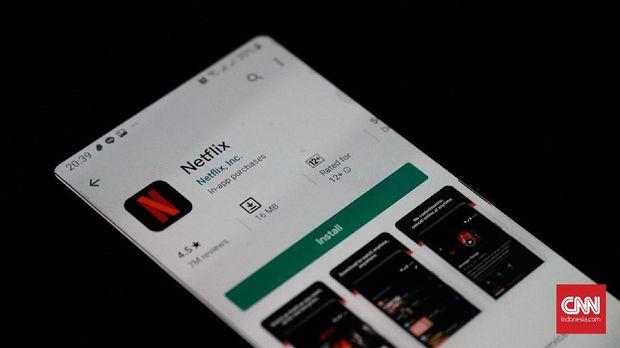 Penggunaan Netflix di Indonesia