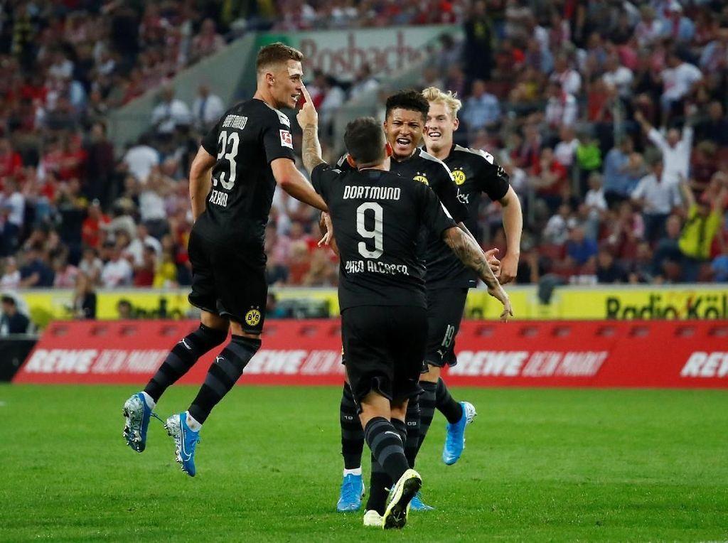 Hasil Liga Jerman: Dortmund Kalahkan Cologne 3-1