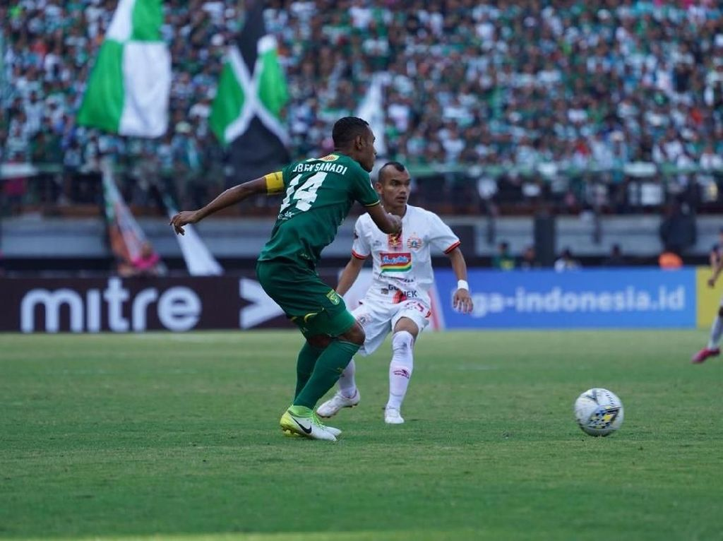 Persebaya Surabaya Vs Persija Jakarta Berakhir 1-1