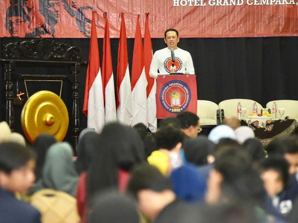 Bamsoet Bicara Bahaya Politik Uang: DPR Hanya Diisi Orang Kantong Tebal
