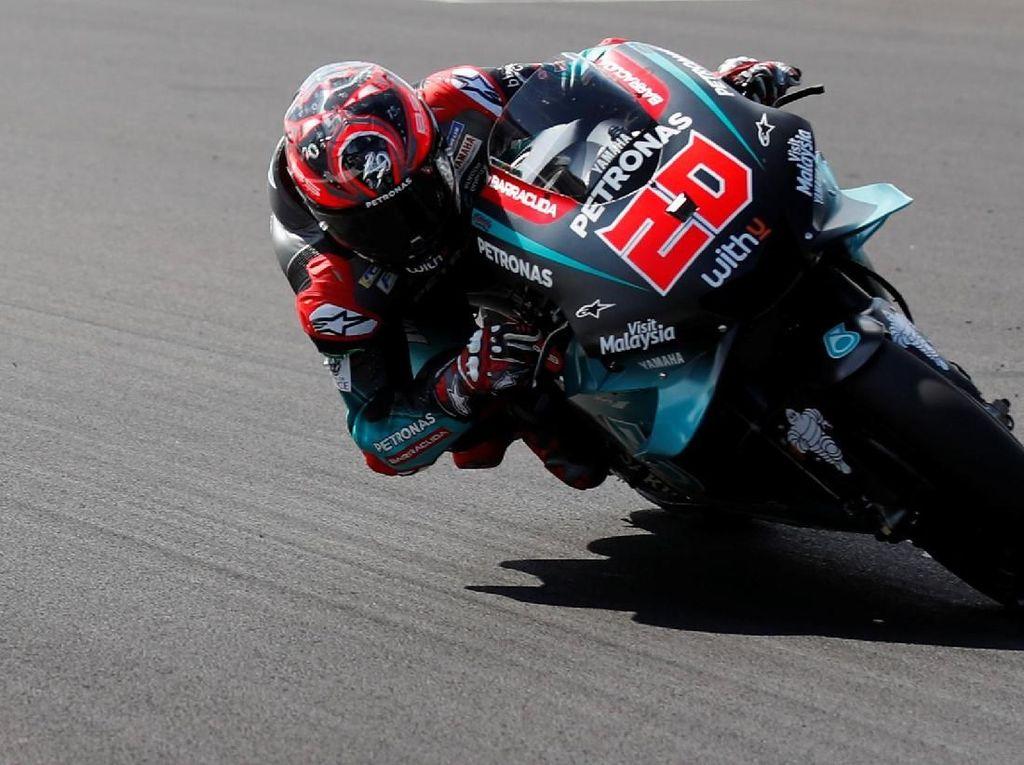 Tak Jadi Dihukum, Quartararo Kuasai FP2 MotoGP Inggris