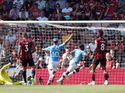 Babak Pertama Tuntas, Man City Ungguli Bournemouth 2-1