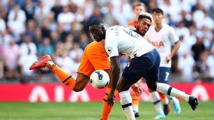 Tottenham Hotspur tertinggal 0-1 dari Newcastle United di babak pertama. (Foto: Julian Finney/Getty Images)
