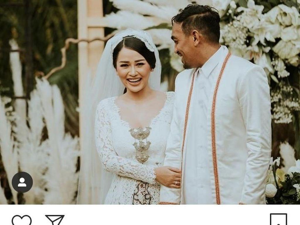 Akhirnya! Mutia Ayu Posting Foto Nikah dengan Glenn Fredly
