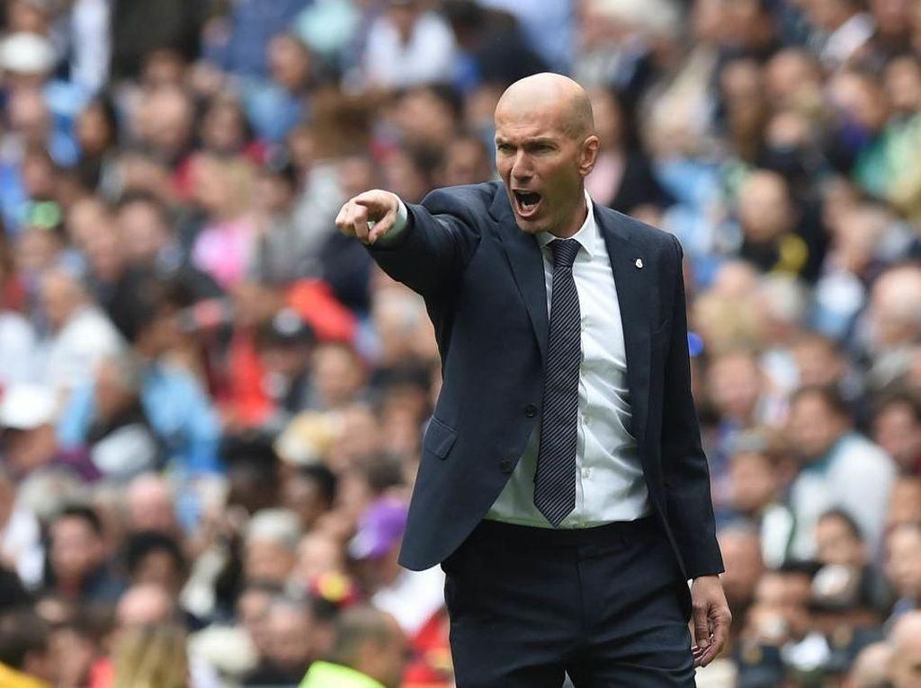 Madrid Dihantam Badai Cedera, Zidane Salahkan Jadwal Padat