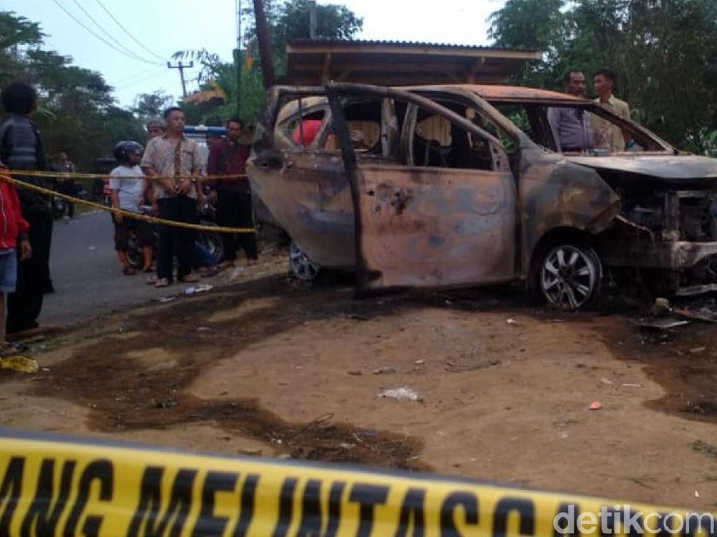 Pembunuh 2 Orang yang Terbakar dalam Mobil di Sukabumi Ditangkap!