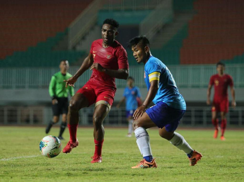 Indonesia Vs Persika Karawang: Skuat Garuda Menang 4-0