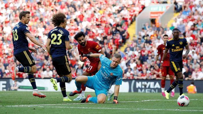 Liverpool memperpanjang catatan tak terkalahkannya atas Arsenal lewat kemenangan 3-1, Sabtu (24/8) (Foto: Phil Noble/Reuters)