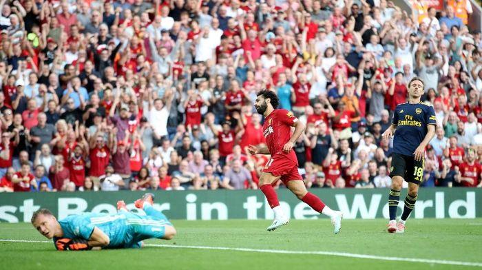 Liverpool menang 3-1 atas Arsenal dalam lanjutan Liga Inggris (Foto: Carl Recine/Action Images via Reuters)