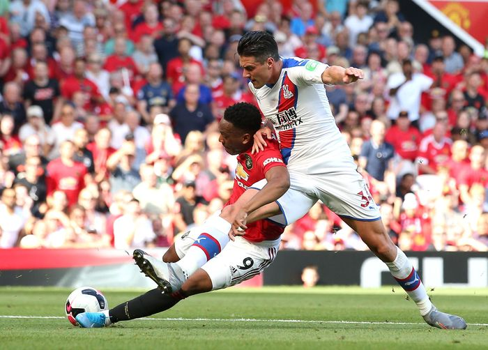 Ole Gunnar Solskjaer menilai Man United layak mendapatkan penalti lain setelah pelanggaran terhadap Anthony Martial. Foto: Jan Kruger / Getty Images