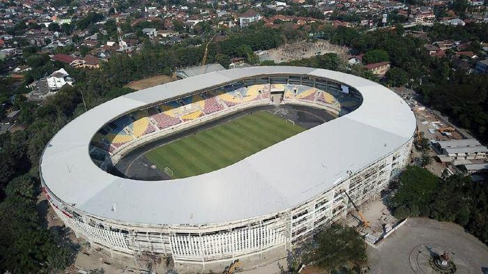 Stadion Manahan, Solo, ditinjau FIFA. (Foto: IstimewaKementerian PUPR)