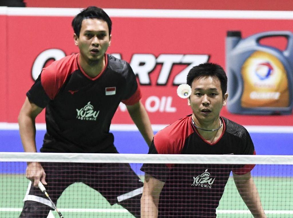 Hendra/Ahsan & Fajar/Rian Susul Kevin/Marcus ke Perempatfinal Malaysia Masters
