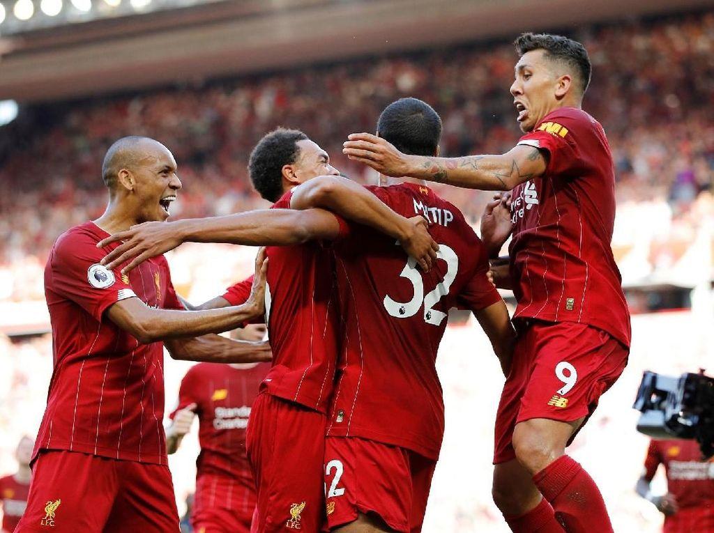 Hasil Liga Inggris Pekan Ketiga: Start Manis Liverpool Berlanjut