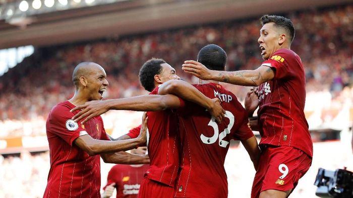 Liverpool untuk sementara masih memuncaki klasemen Liga Inggris. (Foto: Phil Noble/Reuters)