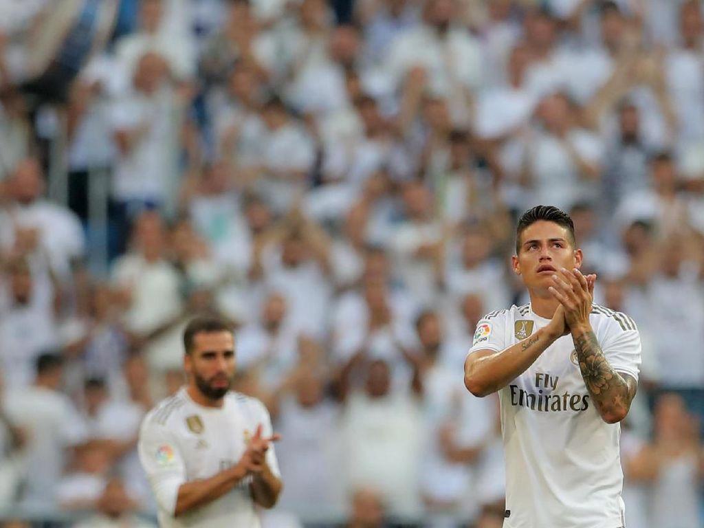 Disebut Kurang Profesional, James Rodriguez Dibandingkan dengan Ronaldo