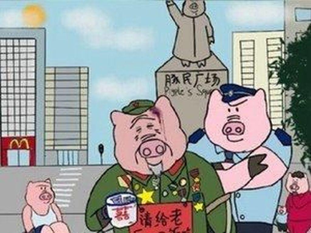 Kartunis di China Ditangkap karena Dianggap Antiekstremis