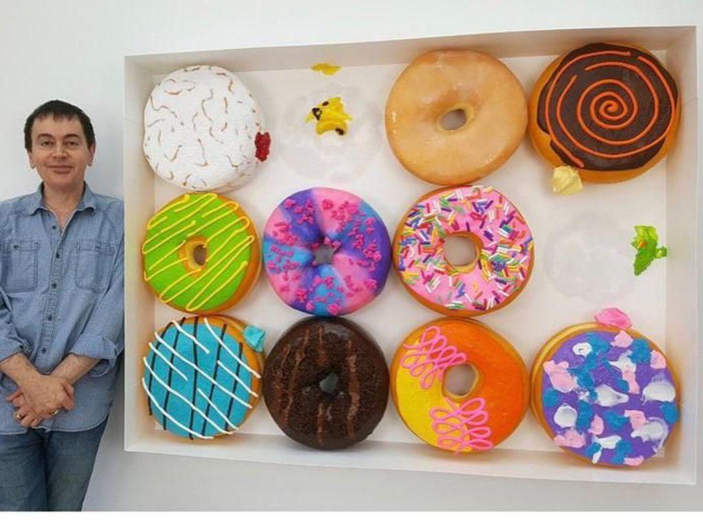 10 Makanan Raksasa Ini Dibuat Oleh Seniman Pahat