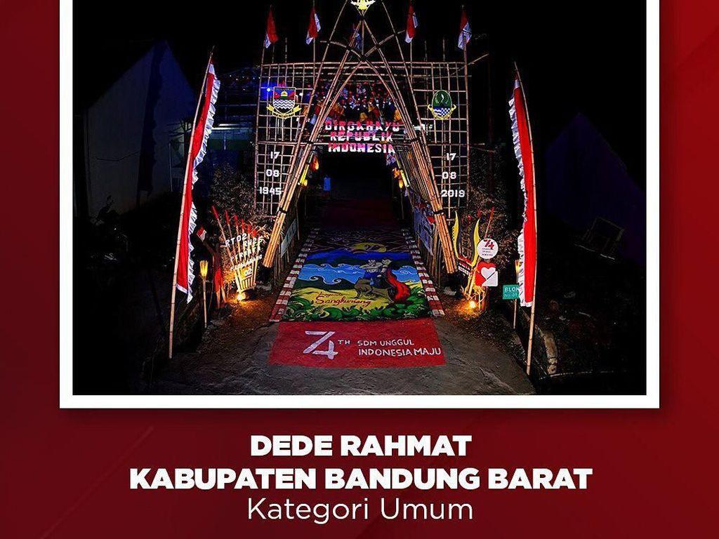 Melihat Gapura yang Curi Hati Jokowi di Bandung Barat