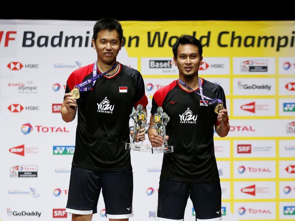 Hendra/Ahsan Juara Dunia 2019