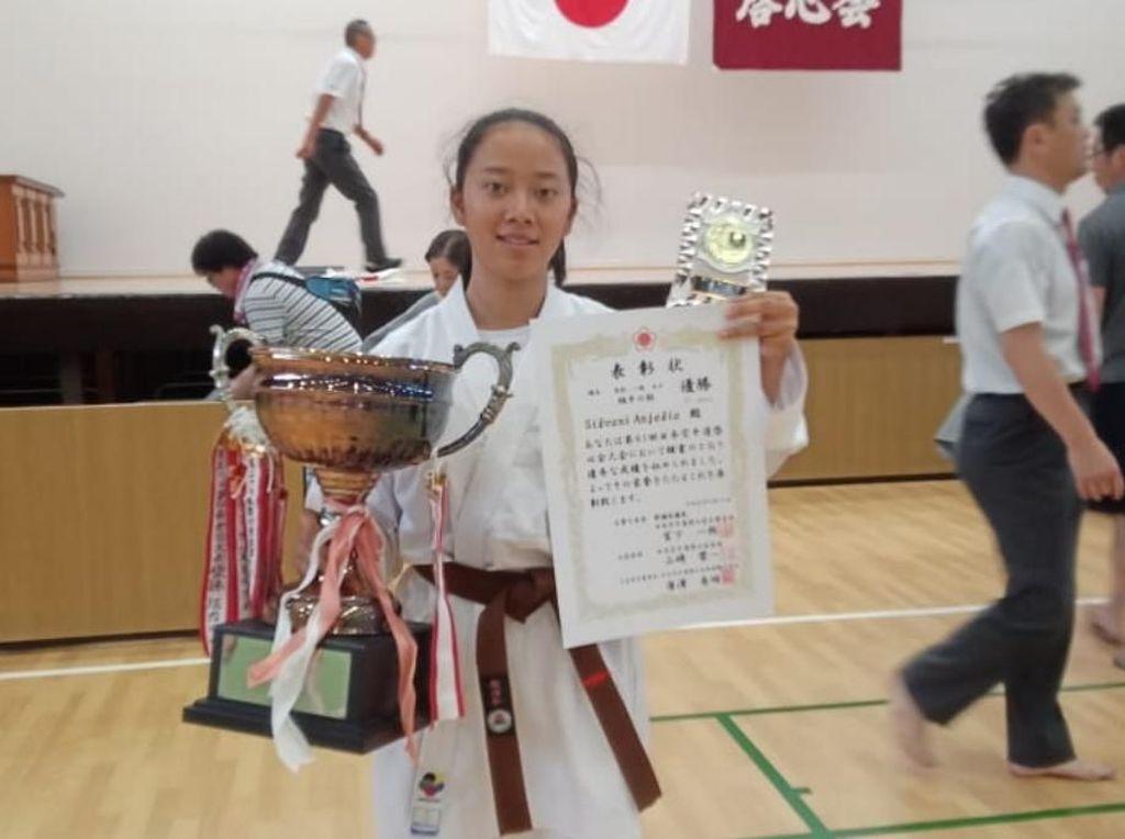 Karateka Silvani Beberkan Kunci Juara Japan Open