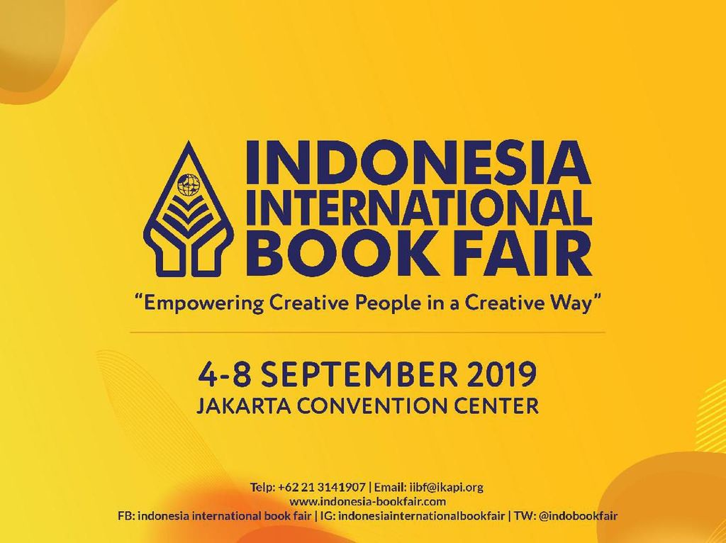 Indonesia International Book Fair 2019 Ingin Jadi Pusat Transaksi Hak Cipta