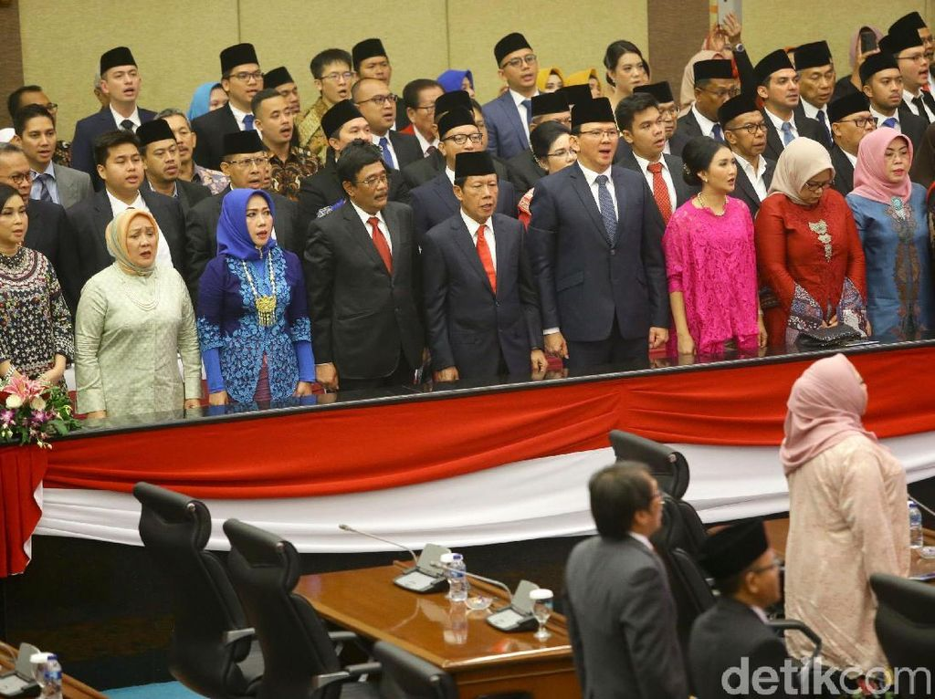 Sah! 106 Anggota DPRD DKI Jakarta Dilantik, Ini Daftarnya