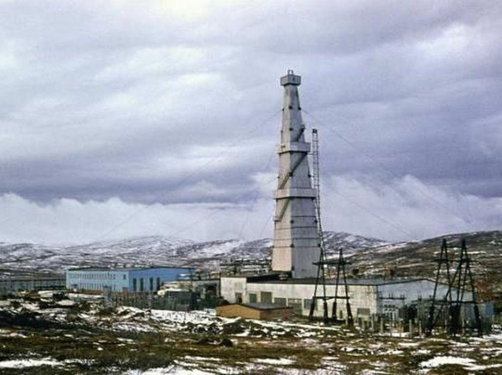 Foto: Lubang Neraka Terdalam Dunia di Rusia