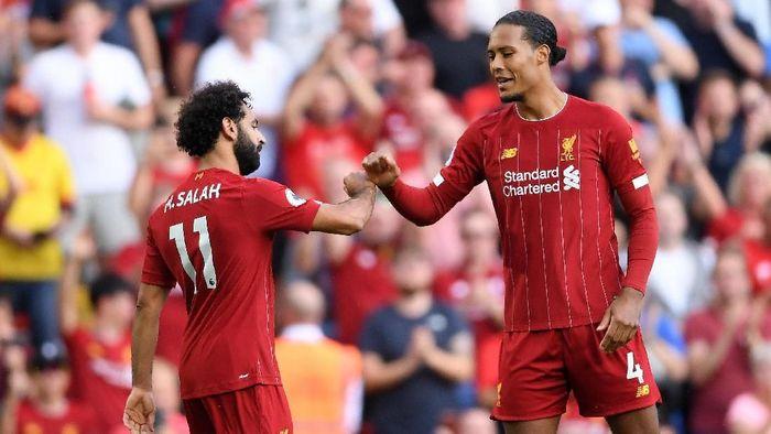 Liverpool memuncaki klasemen Liga Inggris (Foto: Laurence Griffiths/Getty Images)