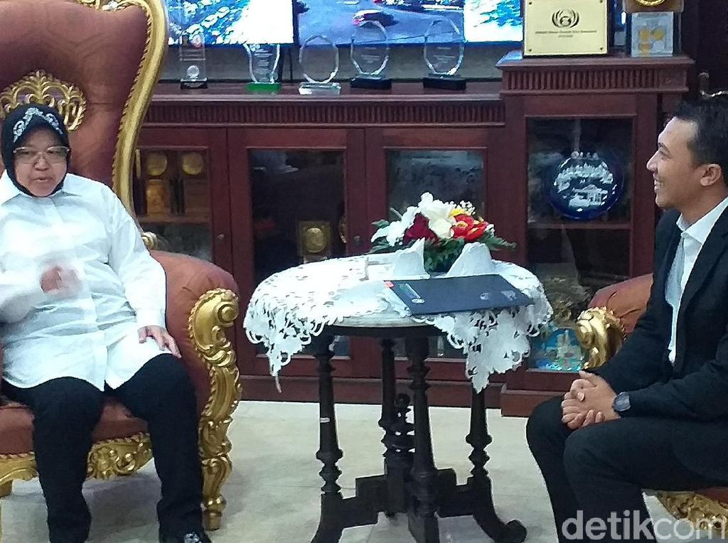 Wali Kota Risma Optimistis Surabaya Jadi Tuan Rumah Piala Dunia U-20