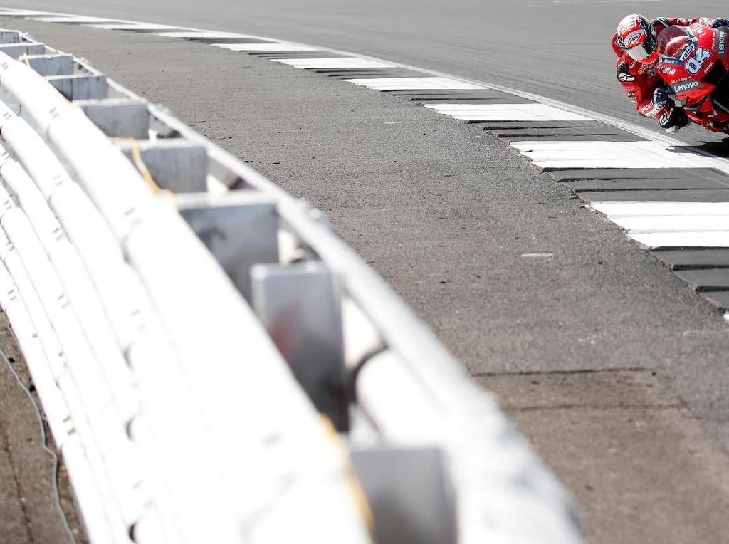 Kecelakaan di MotoGP Inggris, Dovi Marah tapi Enggan Salahkan Quartararo