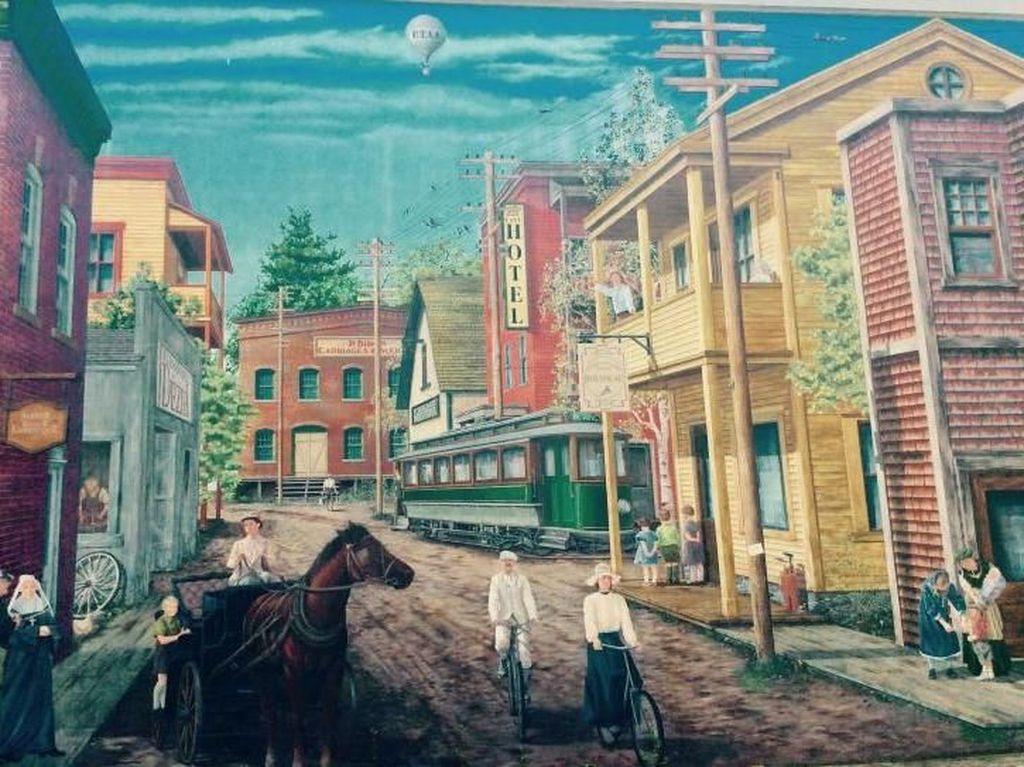 Foto Mural Paling Keren di Kanada