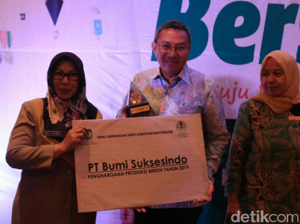 Efektif Kelola Limbah, Perusahaan Tambang di Banyuwangi Sabet Penghargaan