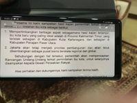 Ini Isi Surat Jokowi ke DPR soal Ibu Kota Baru