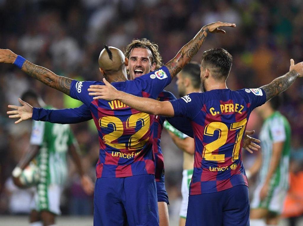 Barcelona Minta Maaf ke Real Betis Terkait Cuitan Twitter