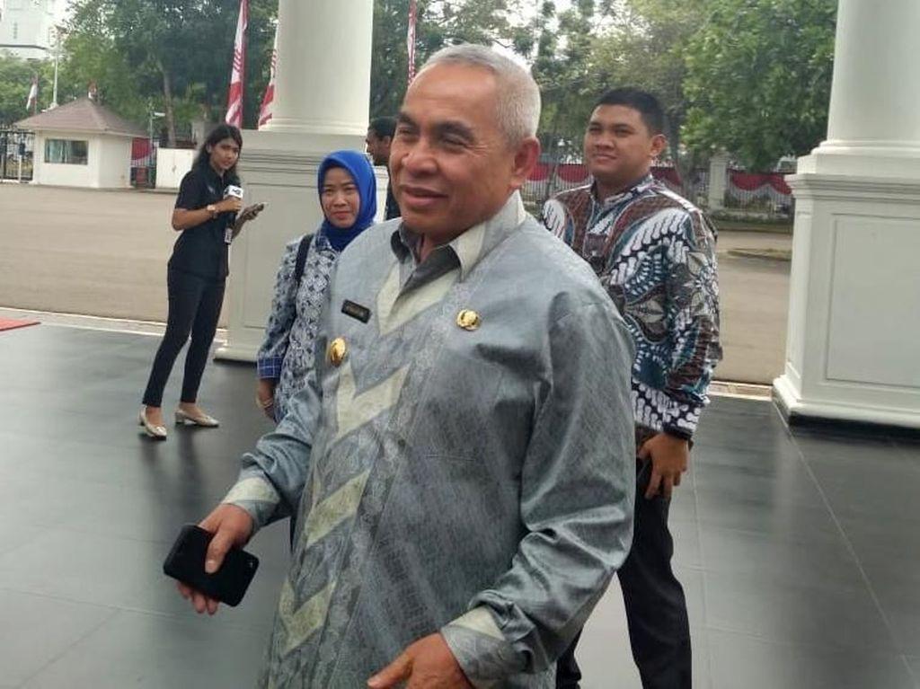 Semringah! Gubernur Kaltim ke Istana Jelang Pengumuman Ibu Kota Baru