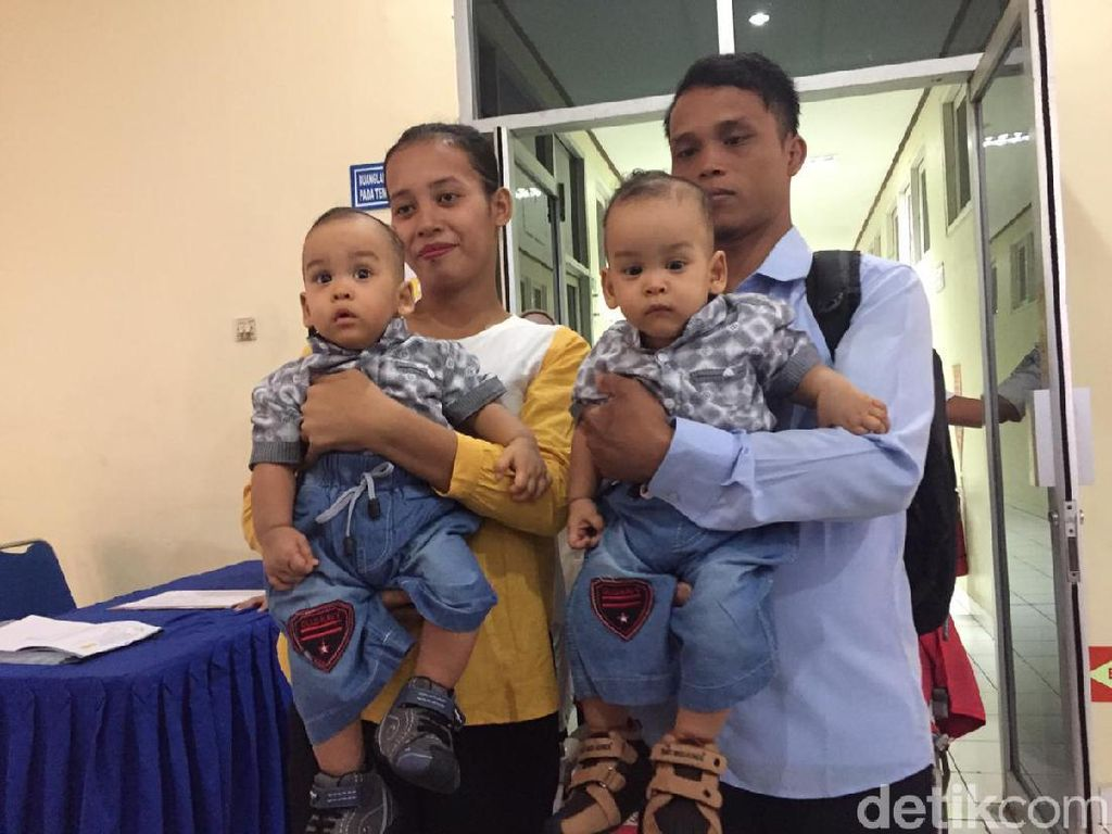 Sukses Dipisahkan, Kembar Siam Adam-Malik Tinggalkan Rumah Sakit