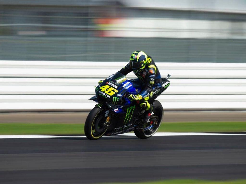 Rossi di MotoGP Inggris: Start Optimistis, Finis dengan Kekecewaan