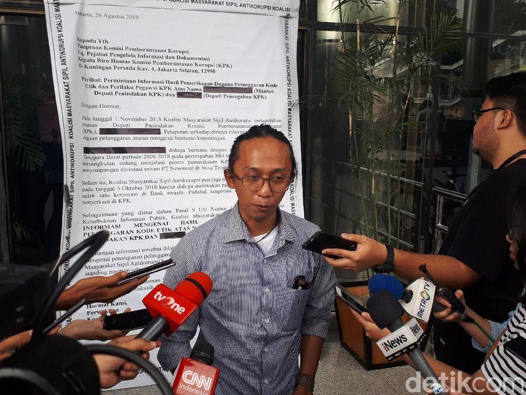 Koalisi Antikorupsi Kirim Surat Raksasa ke KPK