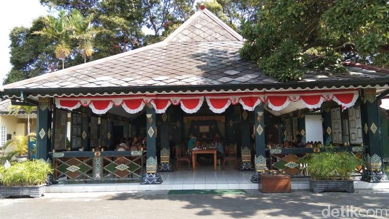 Suasana di Bale Raos Yogyakarta (Tasya/detikcom)