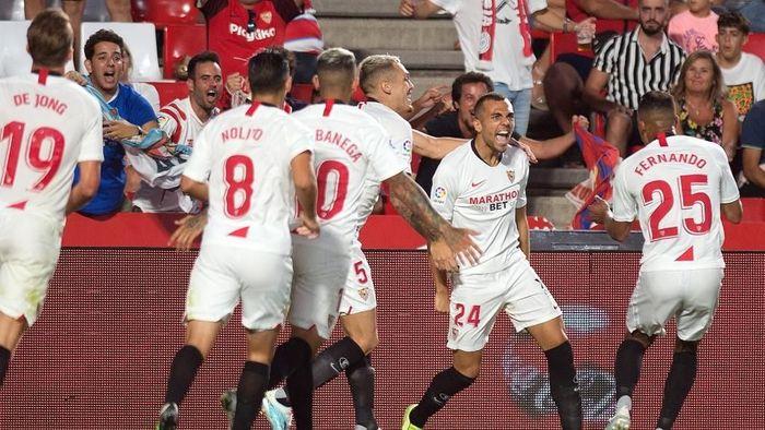 Sevilla memimpin klasemen Liga Spanyol setelah dua pekan (Foto: JORGE GUERRERO / AFP)