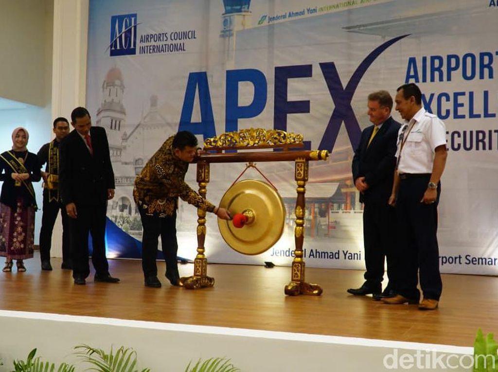 Keamanan Bandara Semarang Di-review Berstandar Internasional