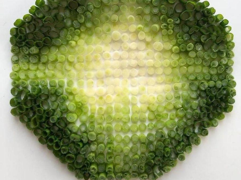 Artistik! 10 Makanan Ini Ditata Dalam Gradasi Warna