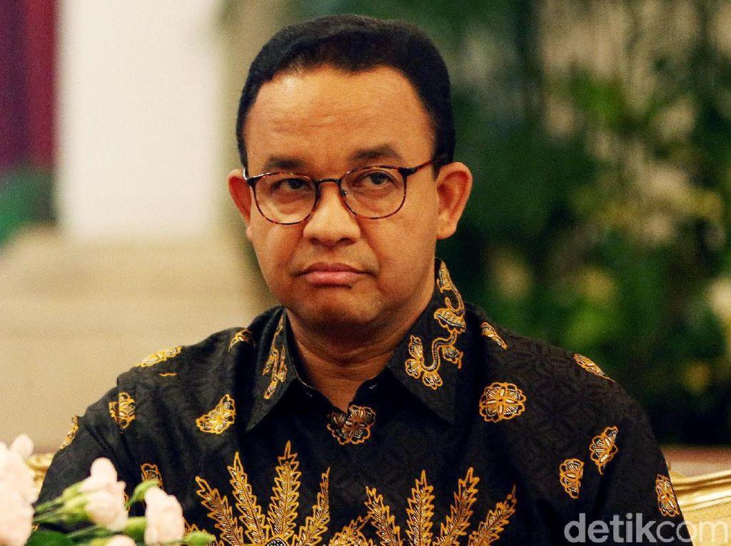 Ekspresi Anies saat Jokowi Putuskan Ibu Kota Pindah ke Kaltim