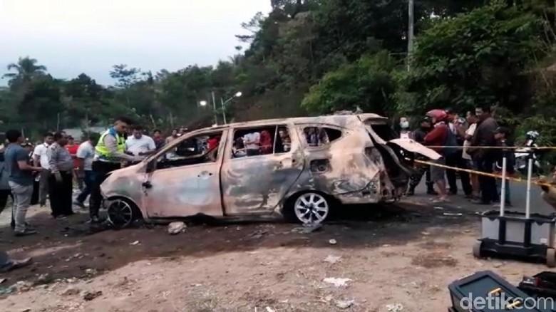 Pelaku Pembakaran Mayat Ayah-Anak dalam Mobil Ikut Terbakar