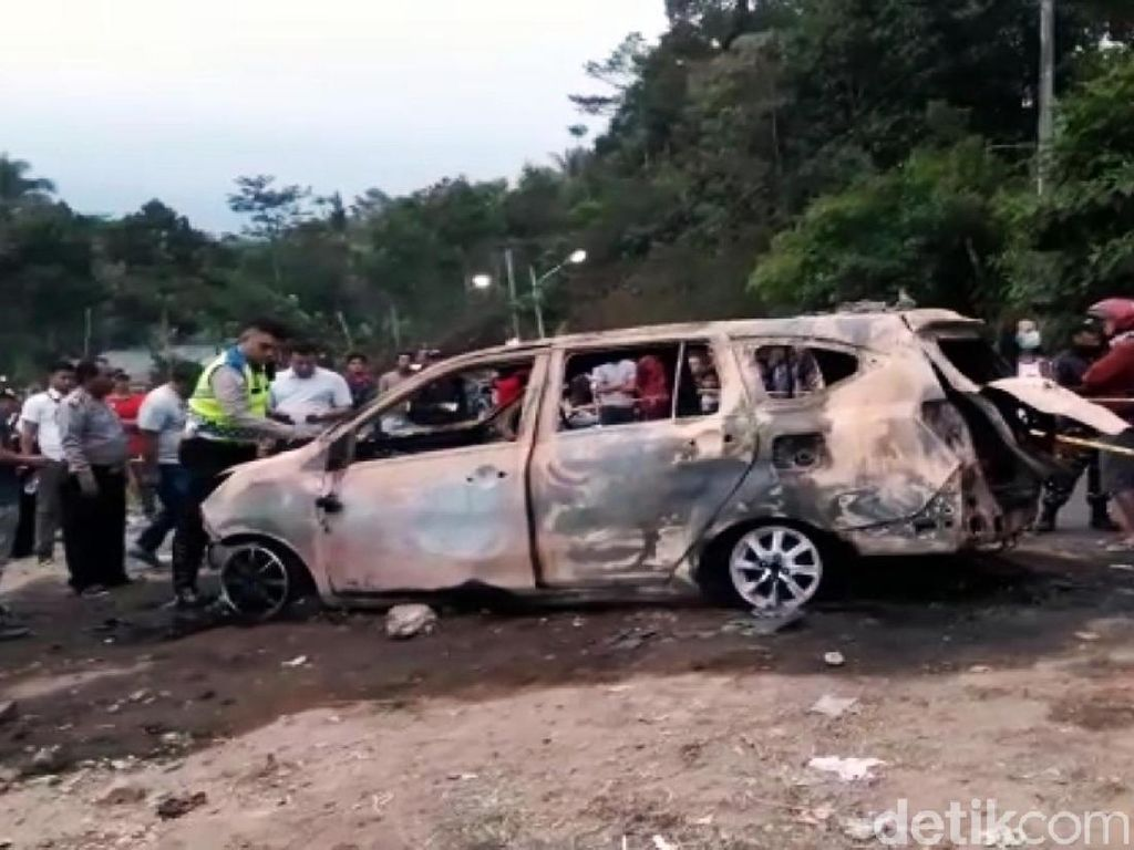 Mayat Terbakar di Mobil Ternyata Korban Pembunuhan, Pelaku Istri