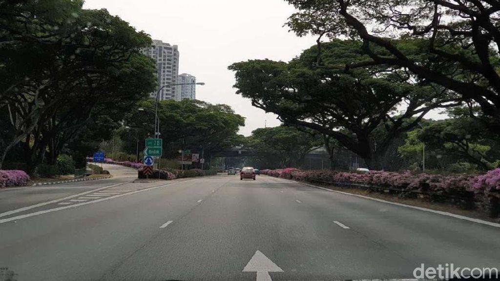 Singapura Bebas Macet di Hari Senin