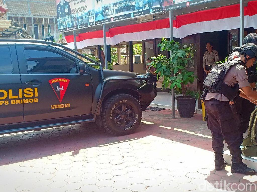 Polisi Pastikan Benda Mirip Bom Rakitan Milik Perampok Toko Emas Bisa Meledak