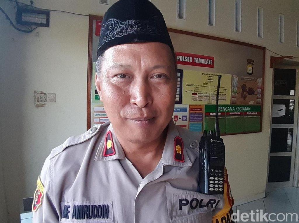 Ancam Warga dengan Pistol Korek, Polisi Gadungan di Makassar Diamuk Massa